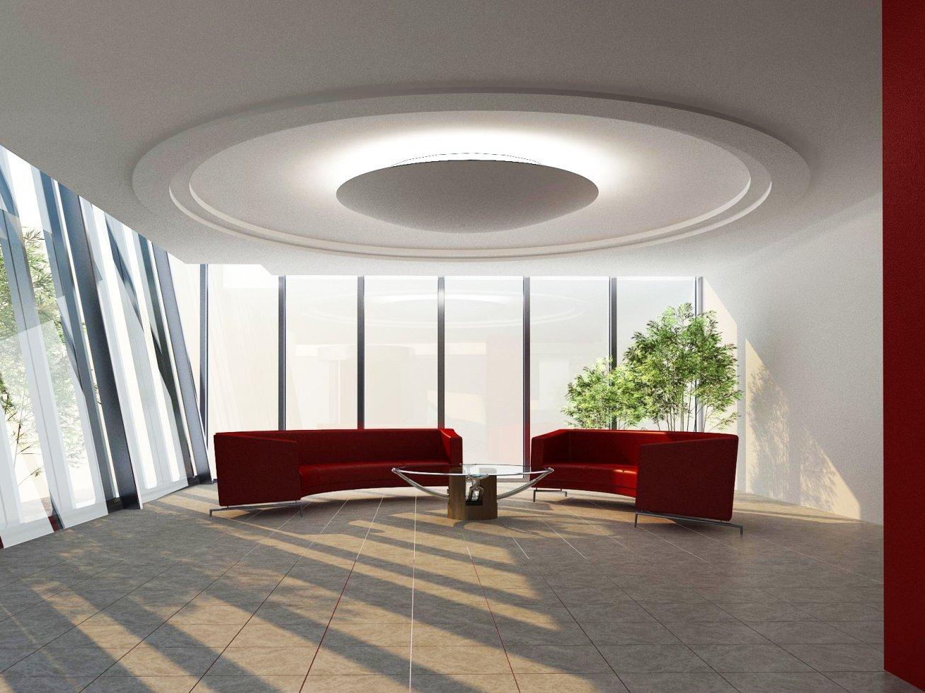 Eksim Holding Genel Merkez İç Mimari