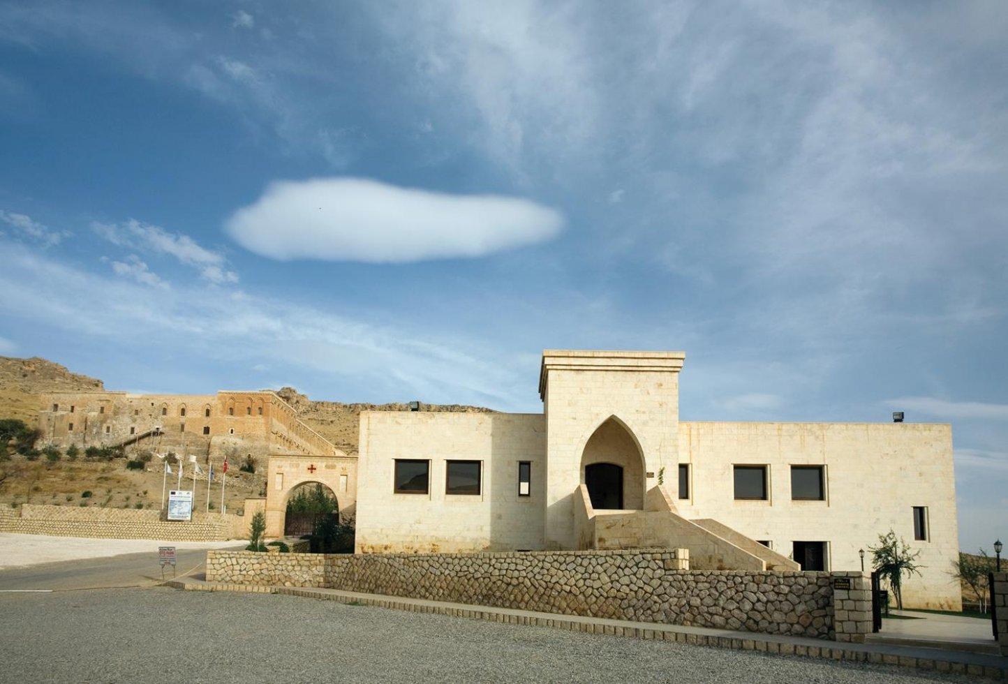 Deyrülzafaran Manastırı Ziyaretçi Karşılama Merkezi