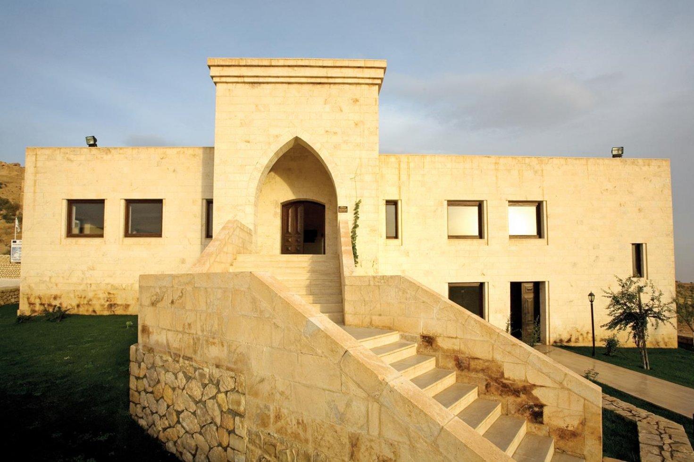 Deyrulzafaran Manastırı Ziyaretçi Karşılama Merkezi